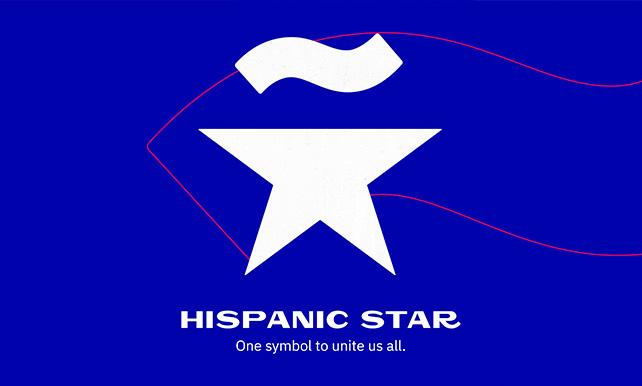 Hispanic Star one symbol